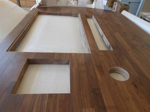 Einzelanfertigung for Kuchenarbeitsplatte vollholz